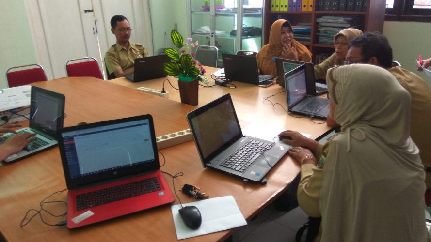 Rapat Pelatihan Pengisian Website PPID Pembantu
