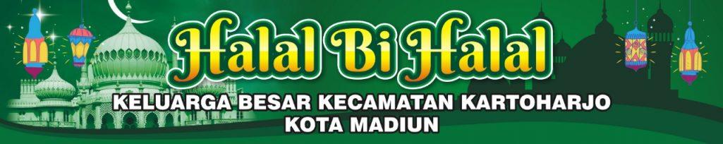 Halal Bi Halal Keluarga Besar Kecamatan Kartoharjo Kota Madiun